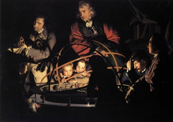 The Orrery, by Joseph Wright